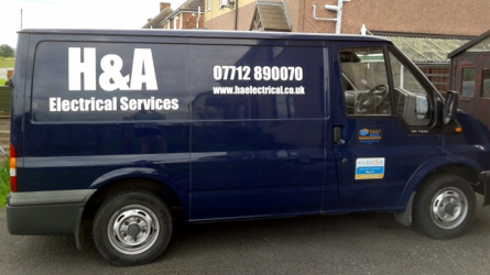 H&A Electrical Services. Contact us for a FREE quote